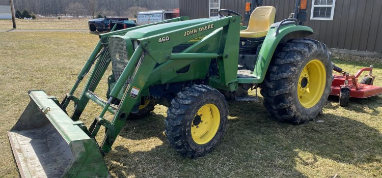 SAT. MAY 1st AT 10AM – ABSOLUTE ESTATE AUCTION